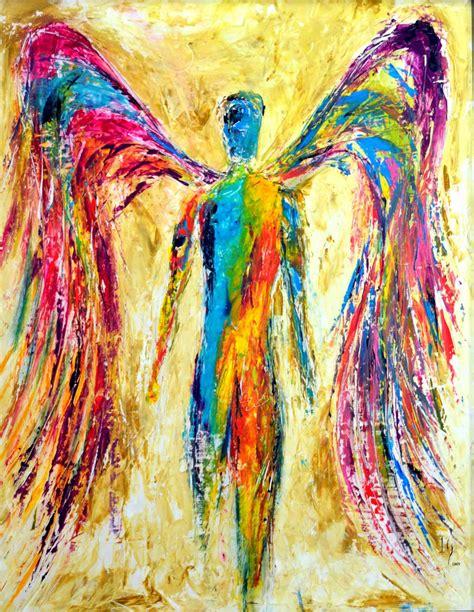 colorful painting christian wall decor christian art