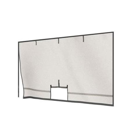 Garage Screen Doors Home Depot Shelterlogic 9 Ft X 8 Ft Garage Screens With Roll Up Pipe Discontinued 29110 0 The Home Depot