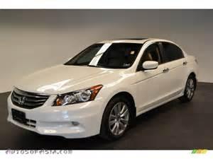 2012 honda accord ex l v6 sedan in white orchid pearl