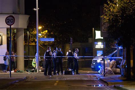 borough market attack london terror attack horror video of witnesses cowering