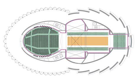 Floor Plan Theater by Galeria De Teatro Wuzhen Artech Architects 32