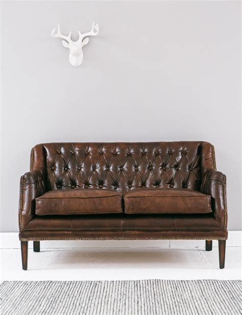leather sofa with buttons vintage leather button stud sofa rose grey