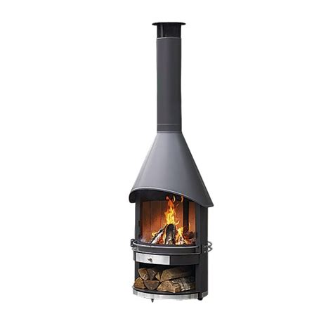 garden fireplace from garpa outdoor fires 10 of the
