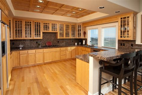Wood Floor In Kitchen Resurgence Of Hardwood Floors In Virginia Kitchensselect