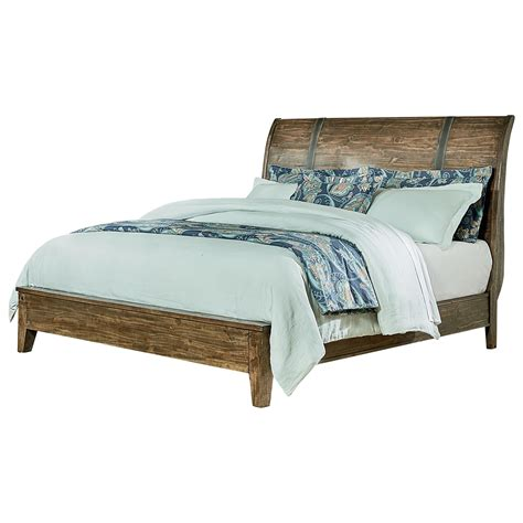 Matras Bed American Standard standard furniture nelson rustic king sleigh bed dunk