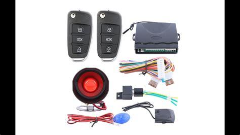 remote control central door locking conversion keyless