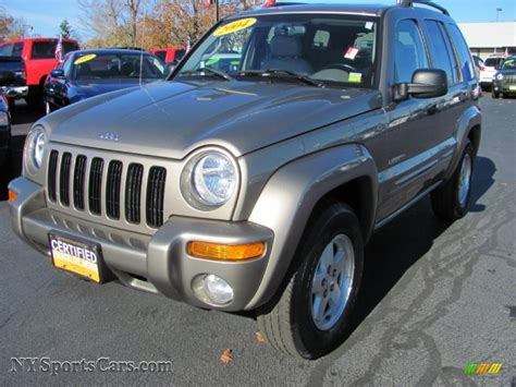 jeep liberty limited 2004 2004 jeep liberty limited 4x4 in light khaki metallic