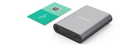 Orico Power Bank 10400mah Qc 2 0 Q1 1 orico q1 qc2 0 10400mah power bank q1 bk q1 bk cplonline