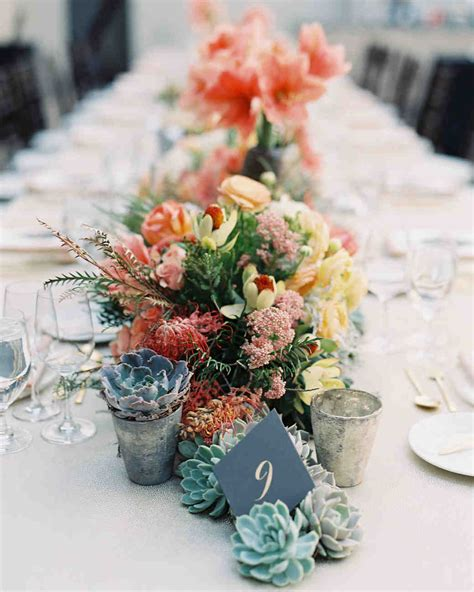 ways to use succulents as part of your wedding d 233 cor martha stewart weddings