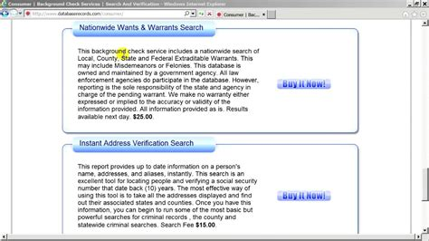 Warrant Search Nationwide Databaserecords How To Search For Verified Safe