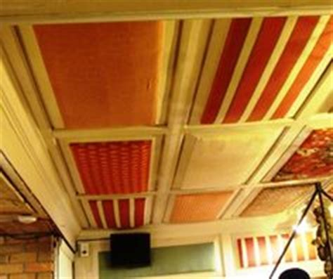 Cloth Ceiling Basement by Basements On Basement Ceilings Fabric Ceiling