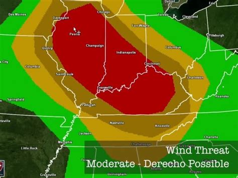 45 million at risk for severe weather today