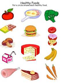 healthy foods worksheet homeschool helper train your