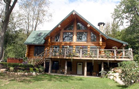 residential log cabin