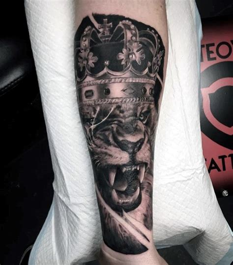 tattoo inspiration male forearm 40 lion forearm tattoos for men manly ink ideas