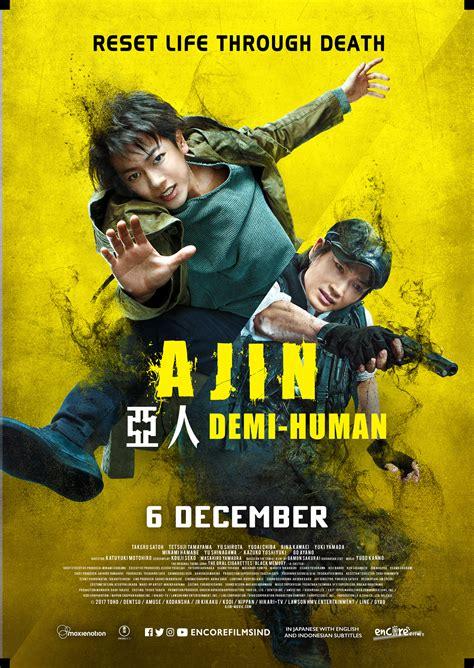 film layar lebar bioskop ajin poster 70x100cm gwigwi