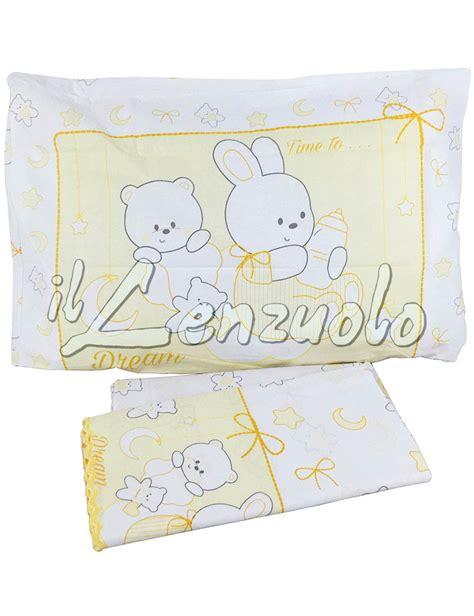 lenzuola culla bassetti completo lenzuola per lettino baby smerlato in cotone fantasia