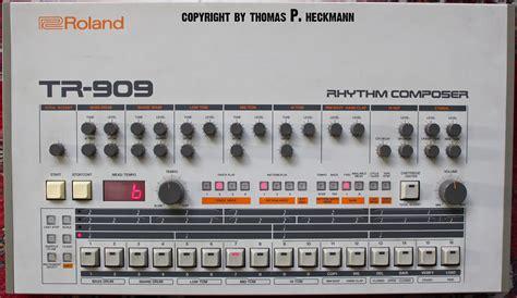 tr tr roland tr 909 rhythm composer troperecordings de