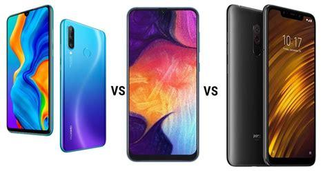 Samsung Galaxy A50 Vs Xiaomi 8 Lite by Huawei P30 Lite Vs Xiaomi Poco F1 Vs Samsung Galaxy A50 Comparison