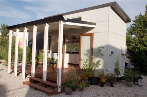 house design companies australia modern australian tiny house on wheels with a bed lift