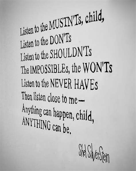 Room By Shel Silverstein by Poem Up And All Things On