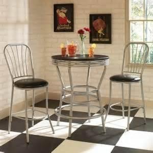 Design Ideas For Indoor Bistro Sets Home Styles Soda Shoppe 3 Diner Set Indoor Bistro Se Polyvore
