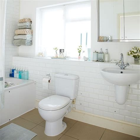 White Metro Tiles Bathroom Images White Bathroom Tile