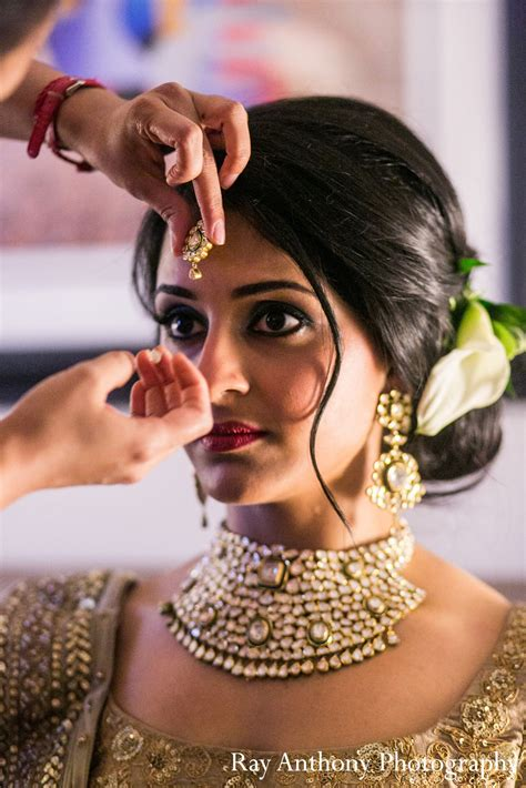 indian hairstyles for engagement function getting ready in dearborn mi indian wedding by ray