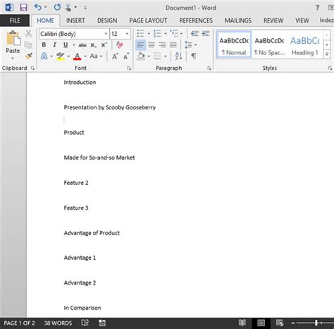 How Do You Make An Outline For A Research Paper - creating powerpoint outlines in microsoft word 2013 for