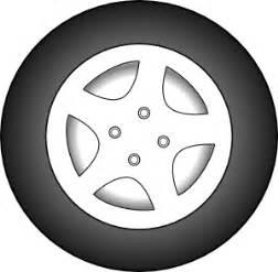 Truck Wheels Clipart Wheel Chrome Rims Clip At Clker Vector Clip