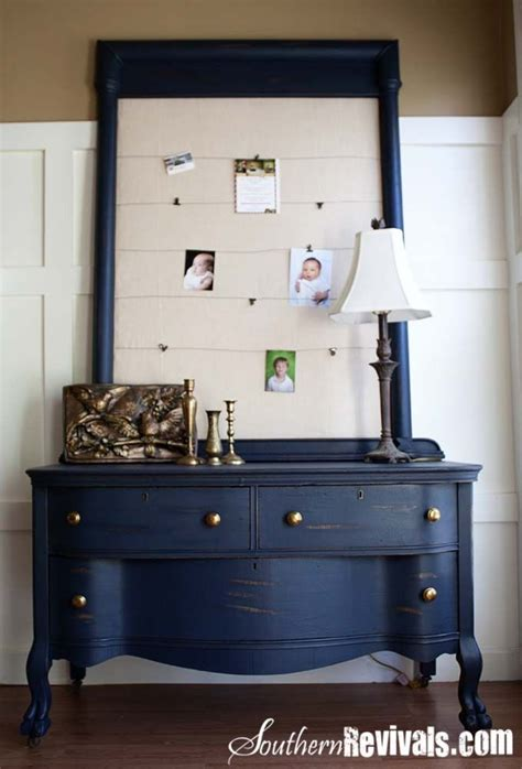 chalk paint navy blue 1000 images about dresser on furniture