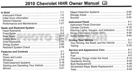 automotive repair manual 2006 chevrolet hhr electronic toll collection manual lock repair on a 2010 chevrolet hhr chevrolet hhr repair manual 2006 2011 what does
