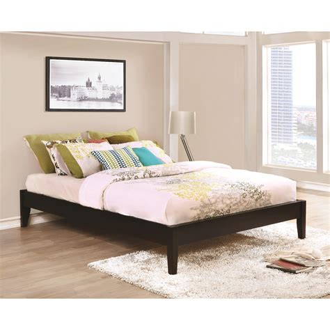 Value City Furniture East Brunswick Nj by Coaster Hounslow Platform Bed In Cappuccino Finish Value City Furniture Platform Or Low
