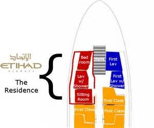 Airbus A380 Floor Plan etihad s the residence is a clever use of normally dead