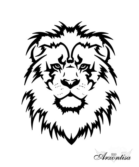 animal tattoo outline outline lion tattoo drawing animal tattoo tattoomagz