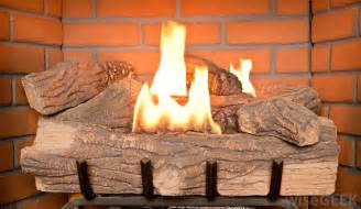 what are gas fireplace logs with pictures