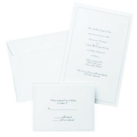 Wilton Thank You Cards Template by Wishmade 50x White Laser Cut Embossed Invitations Kit