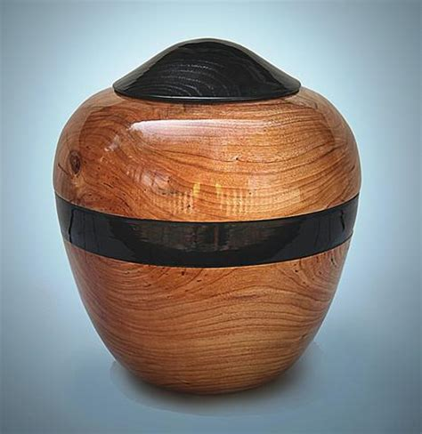 Handmade Wooden Urns - handmade wooden chest cremation urn for ashes handmade