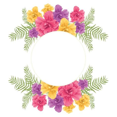 frame design online free floral frame design vector free download