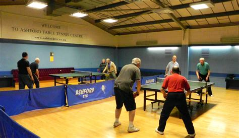 ashford table tennis club friday doubles