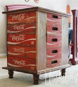 Tin Backsplashes For Kitchens hometalk diy nightstands made from old coke crates