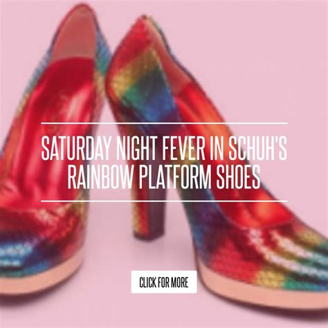 Tulip T Bar Platform Sandal From Schuh by Saturday Fever In Schuh S Rainbow Platform Shoes