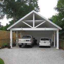 Open Carport Carport With Storage Outside