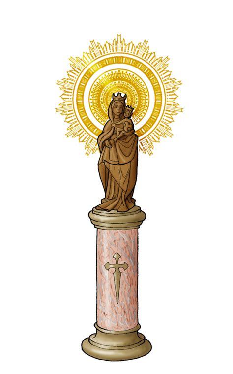 imagenes virgen maria pilar virgen del pilar pilarica dibujos y cosas para catequesis