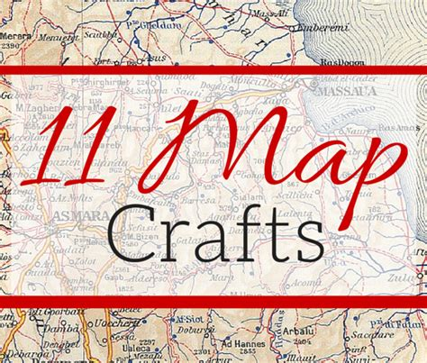 How To Install A Backsplash In A Kitchen 11 Diy Map Craft Projects Weekend Craft