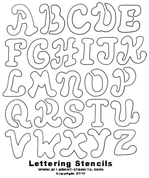 printable large fonts large font letters of alphabet free printable letter