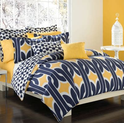 yellow and navy bedding just in dvf studio bedding and bath debuts stylecarrot