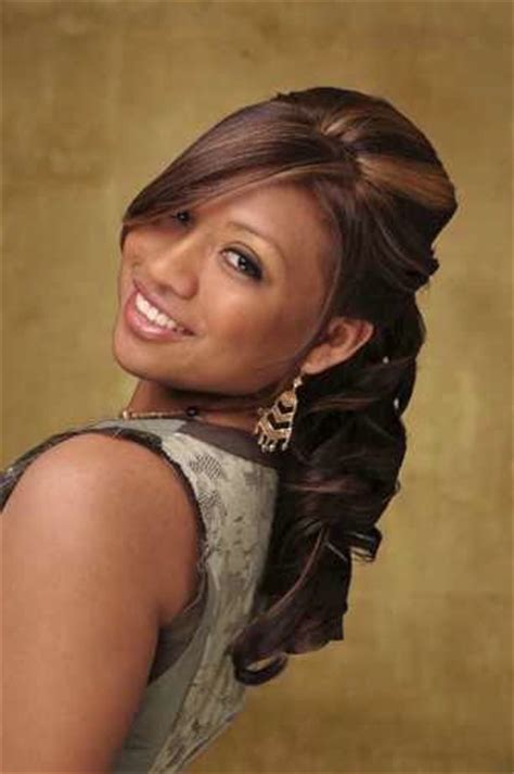 half up half down hairstyles for black hair african american wedding hairstyles hairdos elegant