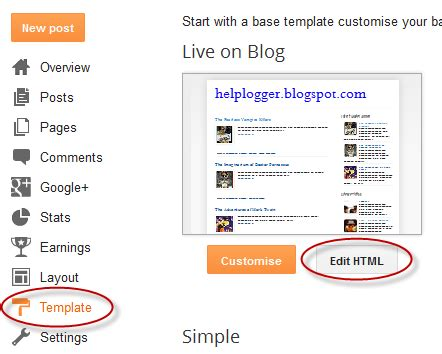how to add numbered page navigation widget for blogger