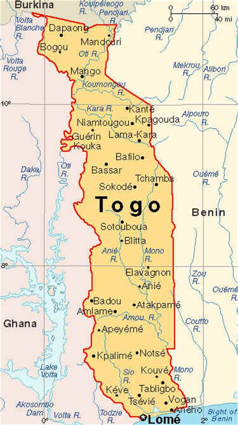 africa map togo where is togo africa on a map quotes